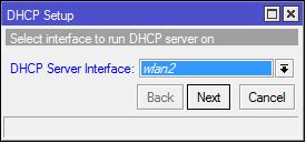 DHCP Setup 1