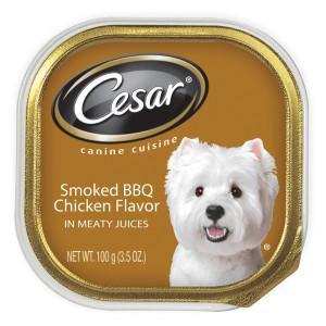 Pate Cesar vị gà BBQ xông khói