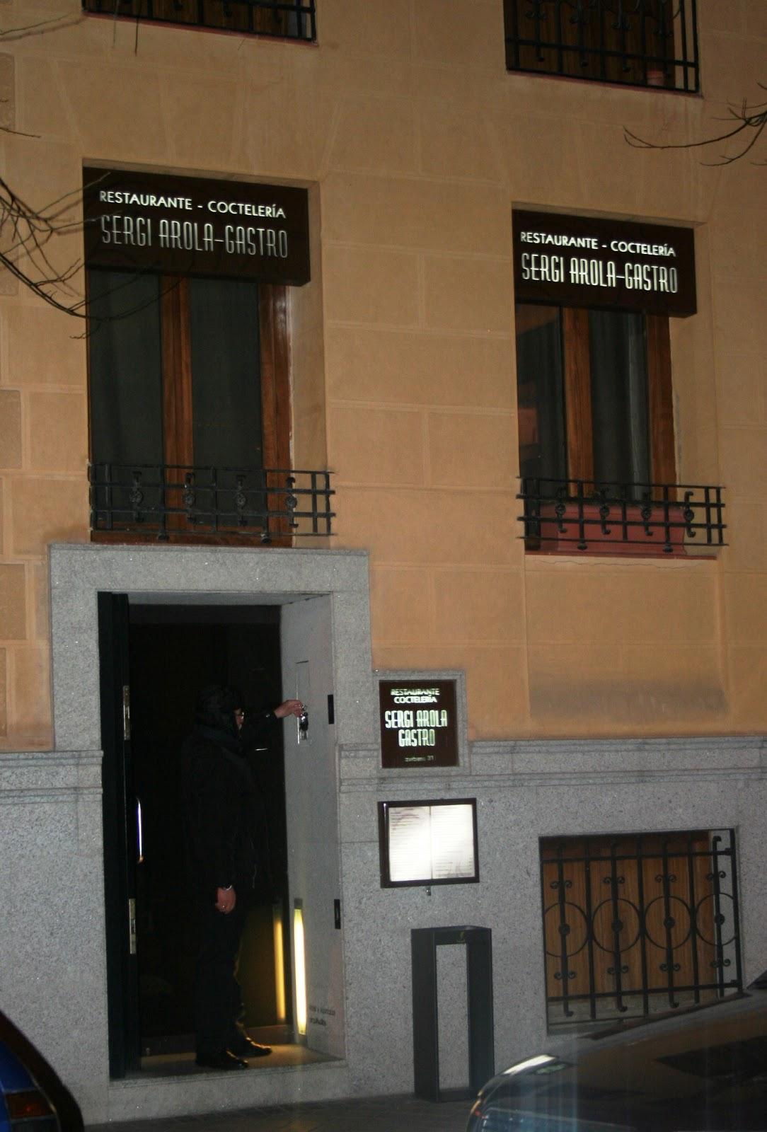 Sergi arola gastro paperblog - Restaurante sergi arola en madrid ...