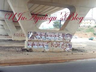 2019: President Buhari's campaign posters flood Abuja