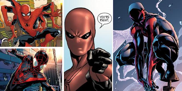 Macam-macam Spider-Man dalam Multiverse Marvel (Spiderverse)
