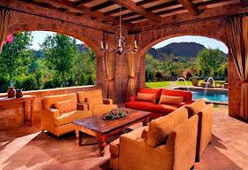 Tuscan Style Backyard Paradise