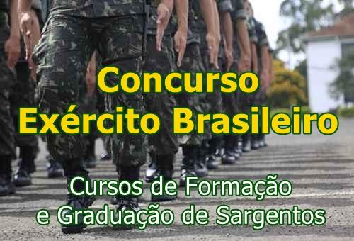 Exército Brasileiro publica novo edital de Concurso para ESA