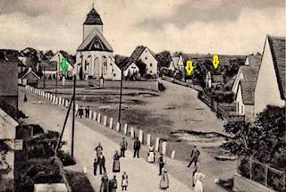 Pełcznica gm. Kąty Wrocławskie pow. wrocławski, pocztówka z 1905 r.