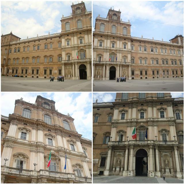O que fazer em Modena? Roteiro para algumas horas na cidade da Ferrari - Piazza Roma - Palazzo Ducale
