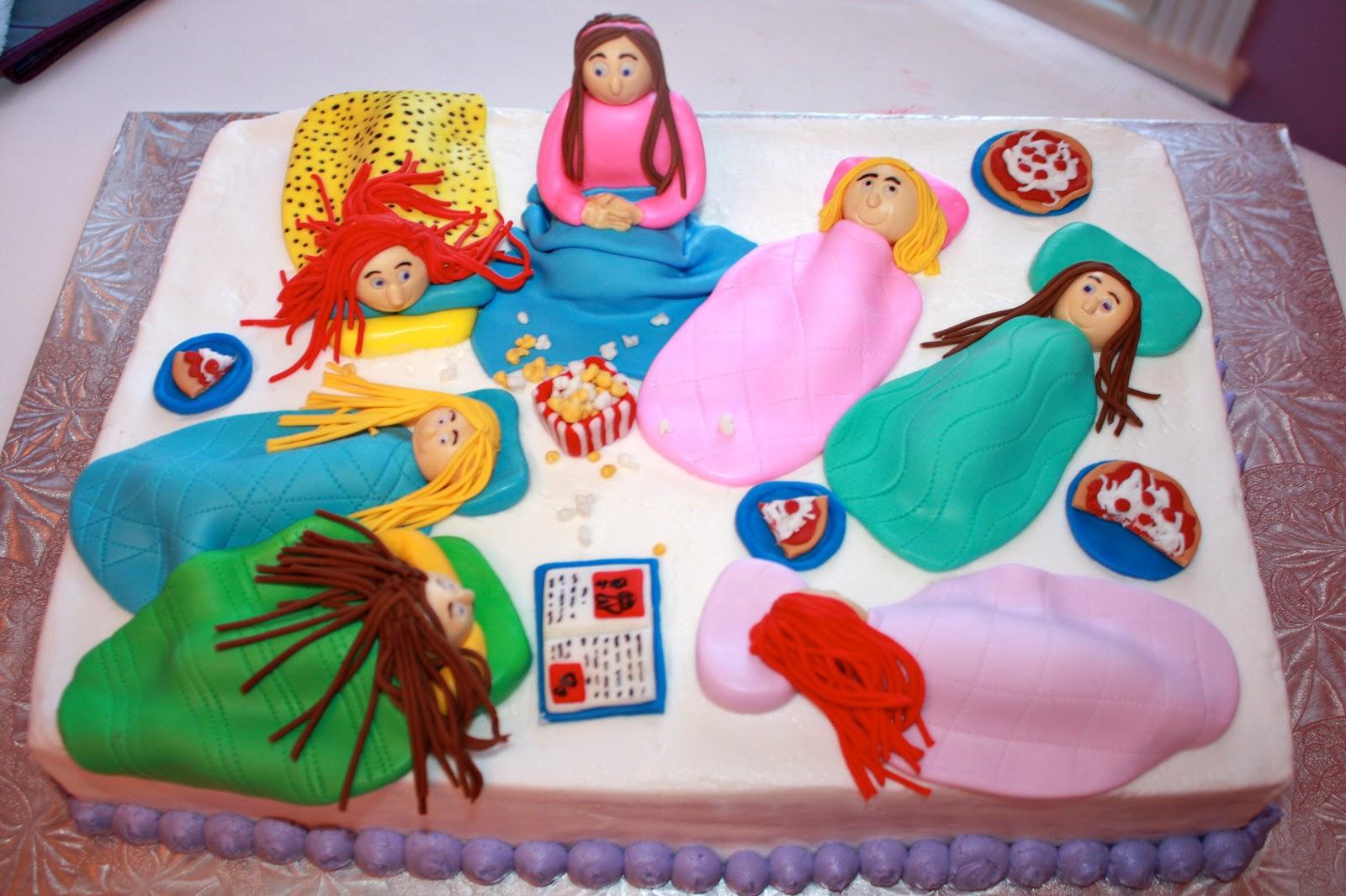 The Layered Cake: Slumber party cake