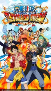 One Piece Thousands Storm V1.2.2 MOD APK English Version APK Android Update Terbaru 2017