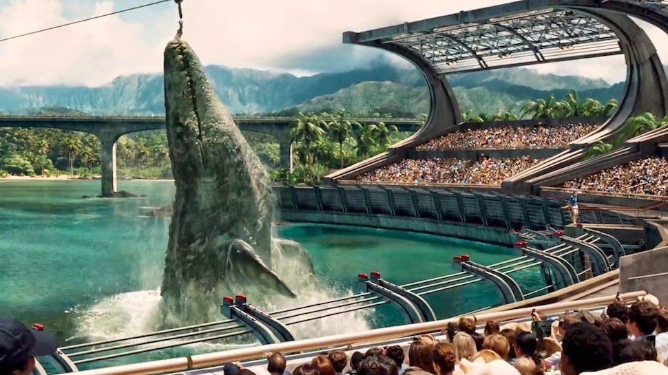 Jurassic World water dinosaur