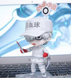 "Figuras: Galeria de imagenes del nendoroid Neutrophil de ""Hataraku Saibou"" - Good Smile Company"