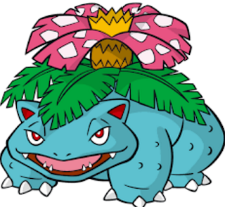 Venusaur-pokemon go GBK