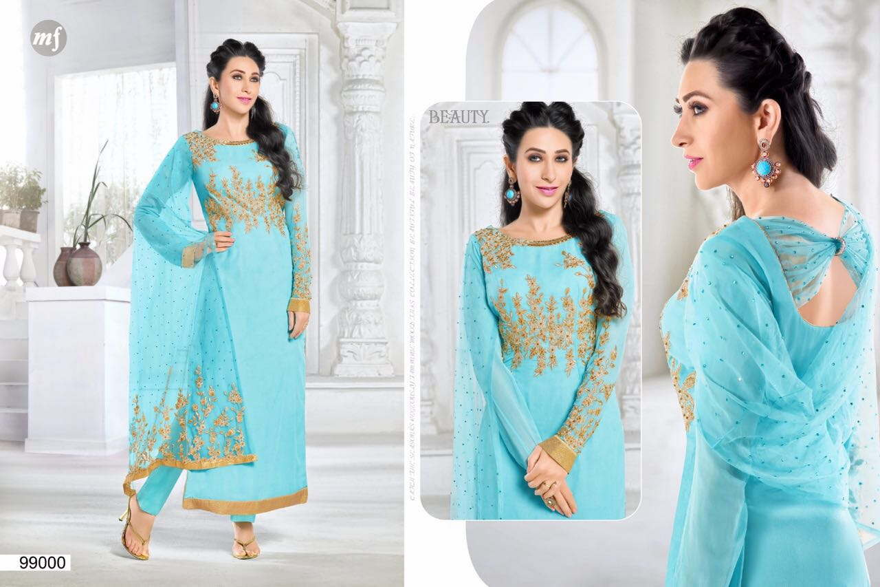 Elezita Vol 6 – Famous And Glorious Georgette Salwar Suit
