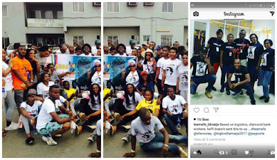 #BBNaija: Efe's fans organize massive get-together in Lagos, Abuja, Benin (Photos)