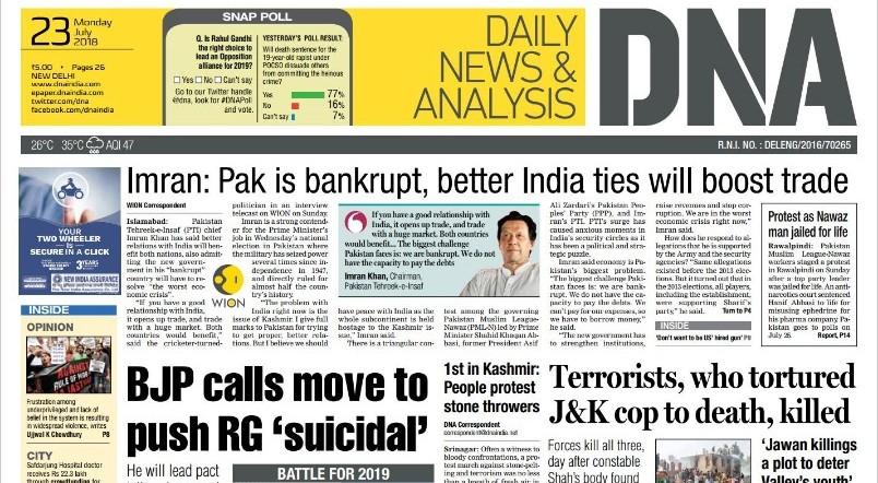 Dna Newspaper Pdf