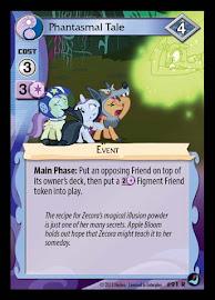 My Little Pony Phantasmal Tale High Magic CCG Card