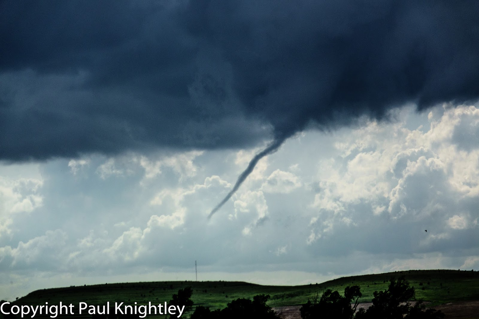 knightley s blog  wide shot showing funnel under line of towering cumulus