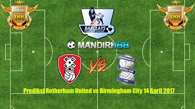 AGEN BOLA - Prediksi Rotherham United vs Birmingham City 14 April 2017
