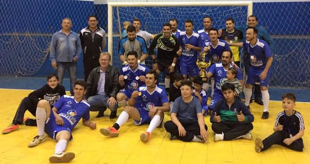 Roncador: Posto Aquarius é campeão da Copa Cartucheira de Futsal