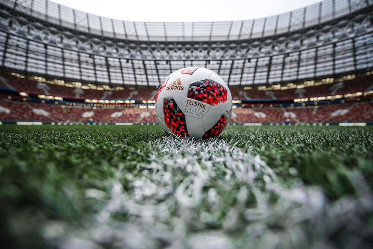 Adidas Telstar 18  Mechta  2018 World Cup Knock-Out Stage Ball Revealed -  Footy Headlines e2c08863a6356