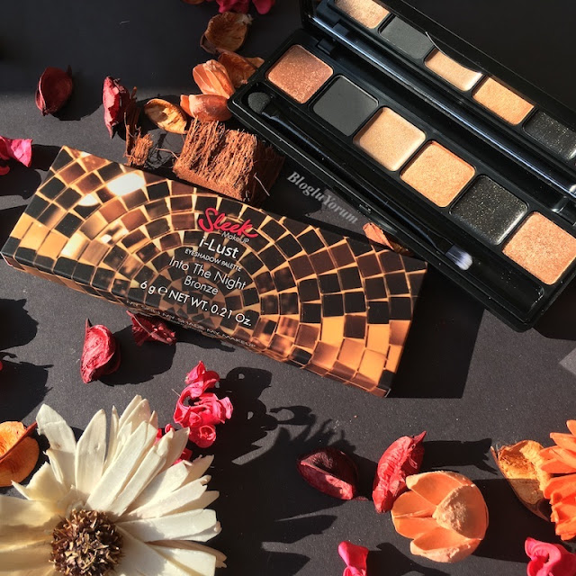 sleek i-lust eyeshadow palette into the night bronze