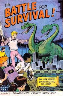 Energie et developpement - bande dessinée vantant les mérites du nucléaire aux enfants dans les années 70