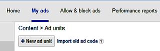 Menambahkan unit iklan google adsense
