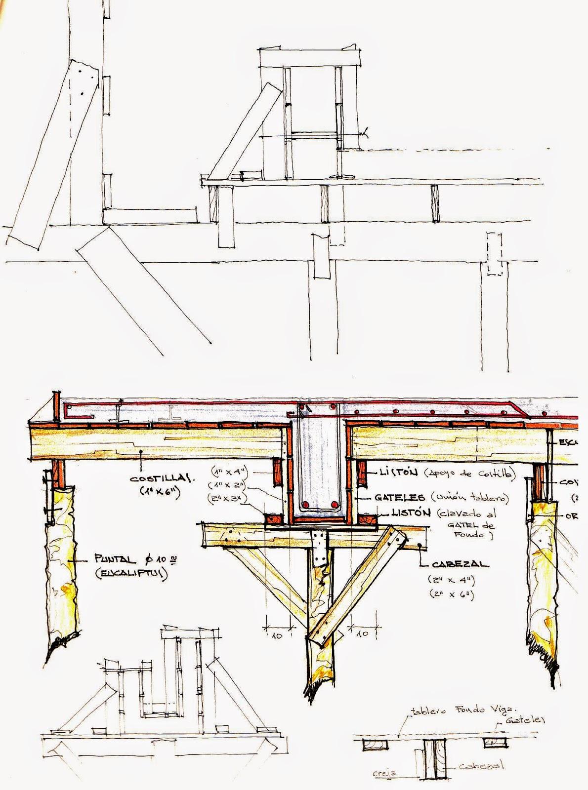 Proceso de obra arquitecto roque e paulino for Detalle escalera volada