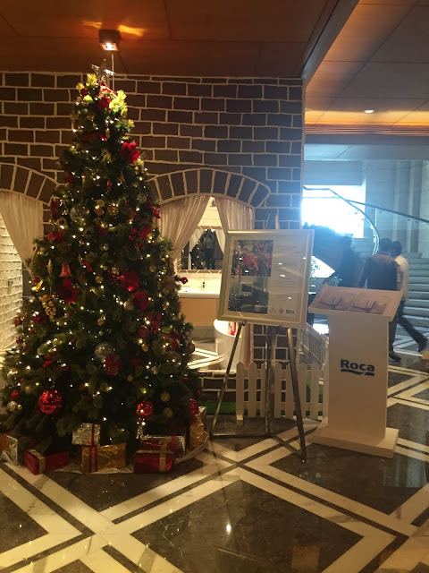 Christmas Tree at Gingerbreat at THE LEELA AMBIENCE GURUGRAM HOTEL & RESIDENCES