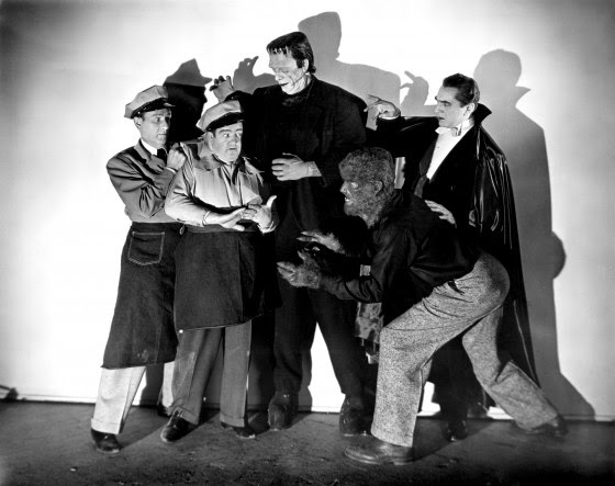 Abbott and Costello Meet Frankenstein cast 1948