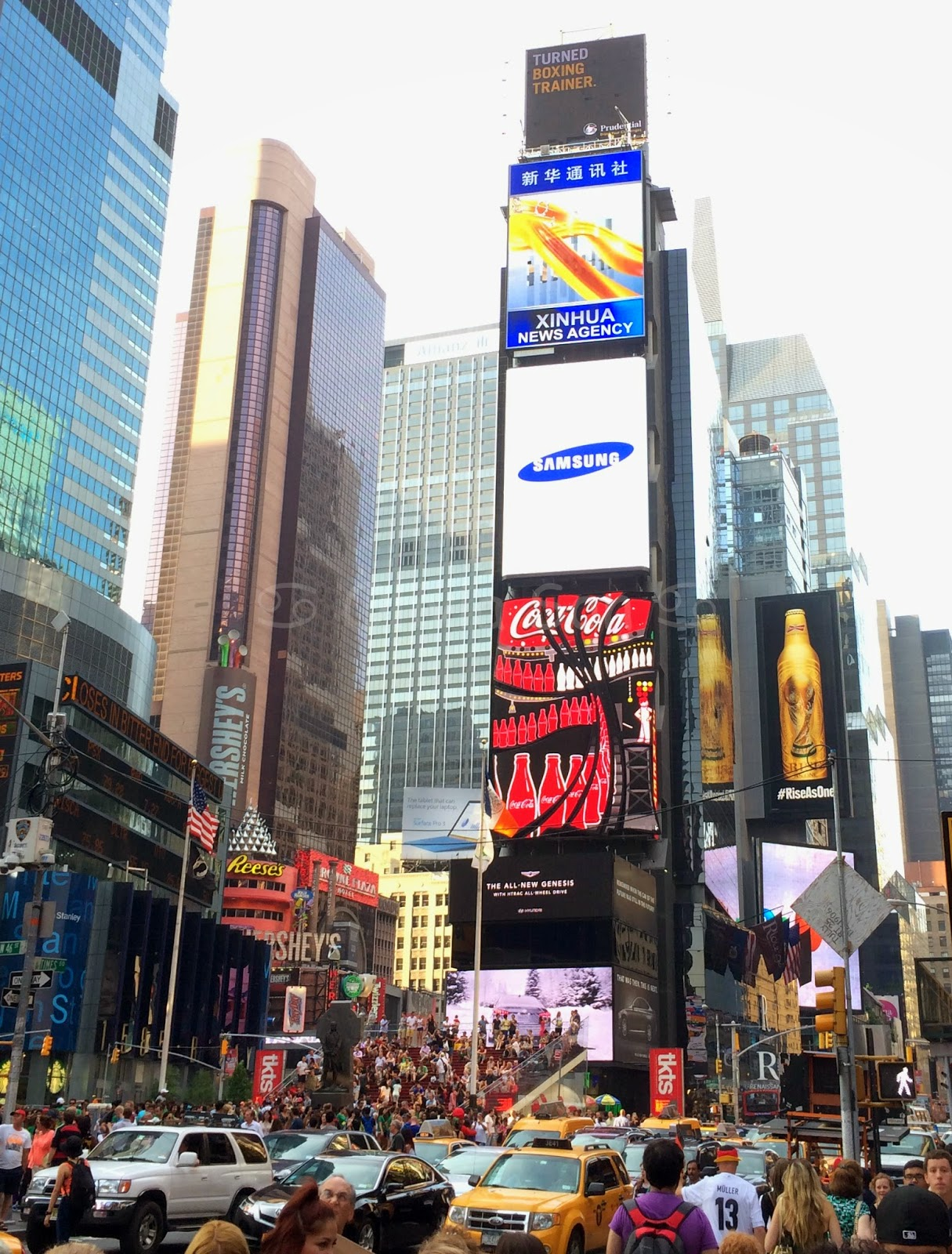 times square, new york city, usa