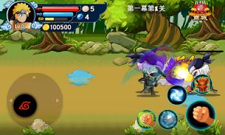 Download Gratis Game Naruto Shippuden Chibi Battle ( APK ) Mod Terbaru 2016