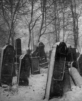 cementerio invierno