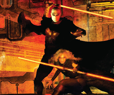 Darth Bane y Darth Zannah