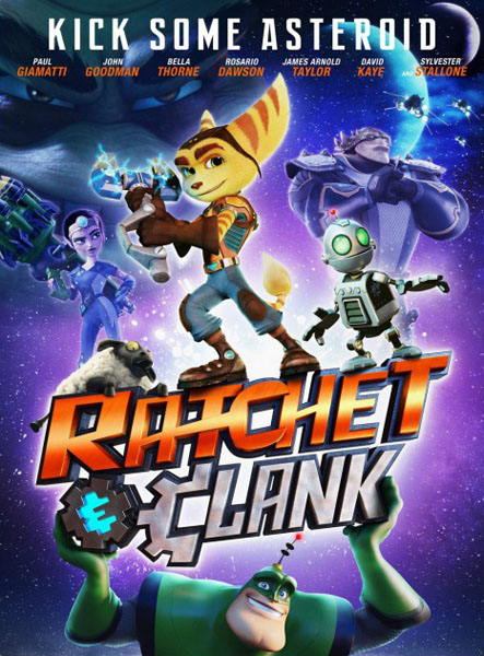 Ratchet & Clank [2016] [DVDR] [NTSC] [Latino]
