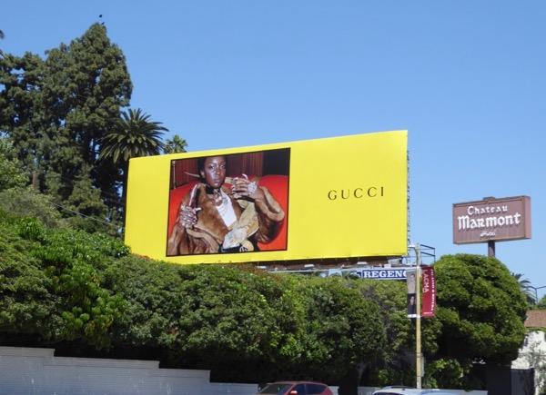 Gucci SS 2017 iguana billboard