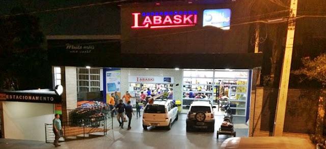 Labaski fechado para balanço na quinta-feira