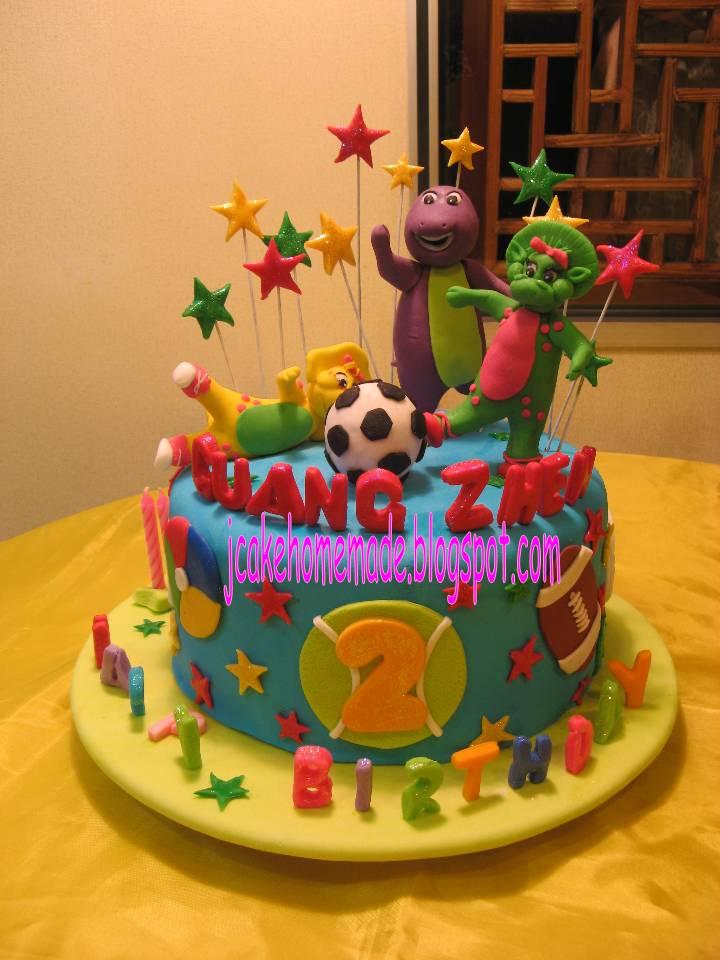 Barney Cake Topper Malaysia