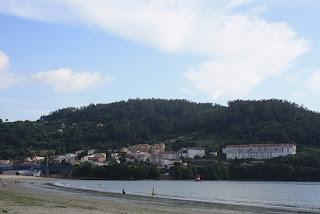 Playa de Pontedeume (A Coruña, España)