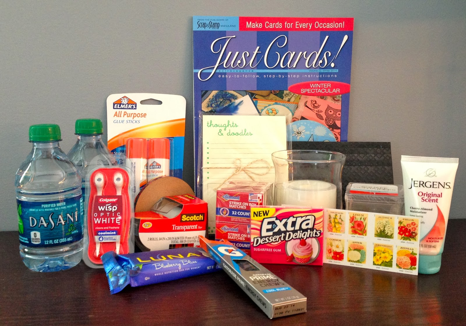 Crafting Retirement Survival Kit Just B Cause