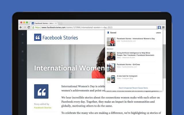 تحميل اضافة حفظ الروابط على فيس بوك لمتصفح جوجل كروم