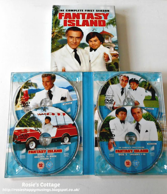 Some DVD box set suggestions for when you just need a sofa day... Fantasy Island.