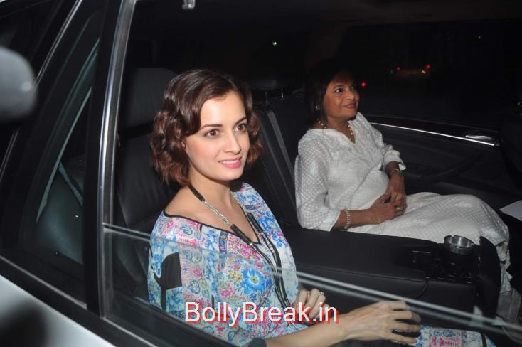 Dia Mirza, Ileana D Cruz Dia Mirza Hot Pics From Piku Screening