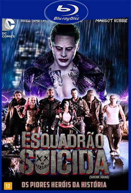 Esquadrão Suicida (2016) BluRay Rip 720p/1080p Torrent Dublado 5.1