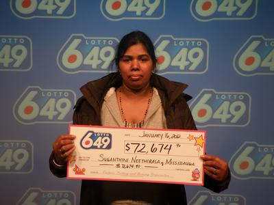 Canada Lotto Winners