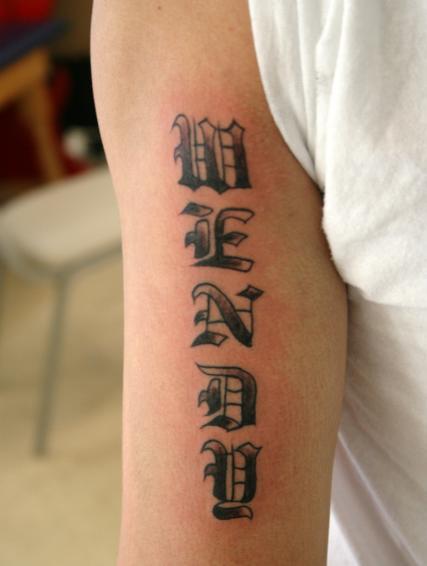 Tattoo Ideas: Words & Phrases