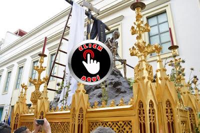 la muerte en la Semana Santa perteneciente a la Hermandad del Santo Entierro que procesiona en Sevilla el Viernes Santo