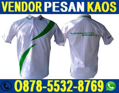 Tempat Alamat Jasa Konveksi Kaos Oblong, Poloshirt Berkerah di Surabaya