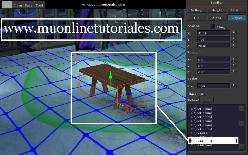 Modificando las propiedades del nuevo objeto