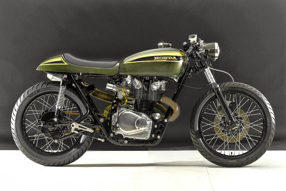 for motorcycle fans 1973 honda cb450 cafe racer. Black Bedroom Furniture Sets. Home Design Ideas