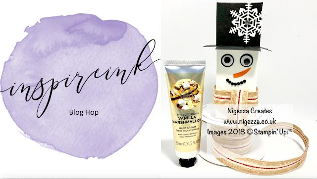 InspireINK Secret Santa Blog Hop Nigezza Creates