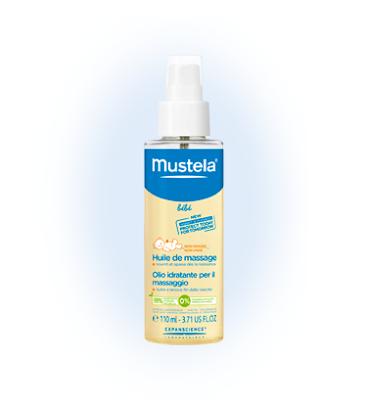 Huile de massage Mustela - Blog beauté - Les Mousquetettes